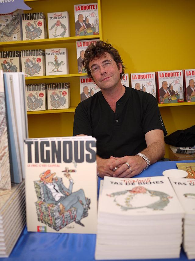 Bernard Verlhac, más conocido como Tignous, era un caricaturista francés.